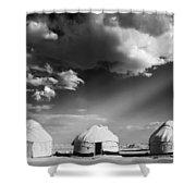 Yurts Shower Curtain