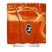 Z Emblem P Shower Curtain