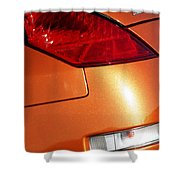 Z Taillights P Shower Curtain