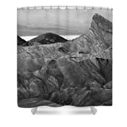 Zabraski Point Death Valley Img 4359 Shower Curtain