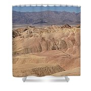 Zabriskie Point Panorama Shower Curtain
