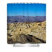 Zabriskie Point Panoramic Shower Curtain