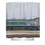 Foster Farms Locomotive Shower Curtain