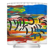 Zafari Shower Curtain