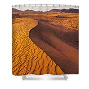 Zagora Desert In Morocco Shower Curtain