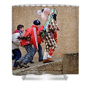 Zangarron 7 Shower Curtain