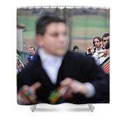Zangarron Mascarade 3 Shower Curtain