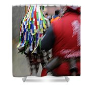 Zangarron Mascarade 8 Shower Curtain