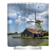 Zaanse Schans Shower Curtain