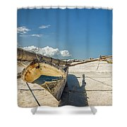 Zanzibar Outrigger Shower Curtain