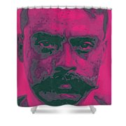 Zapata Intenso Shower Curtain by Roberto Valdes Sanchez