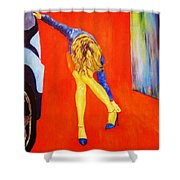 Zapatos 3 Shower Curtain