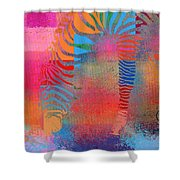 Zebra Art - Mtc077b Shower Curtain