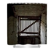 Zee Stable Door Shower Curtain