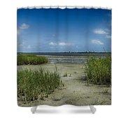 Zeke's Island Shower Curtain