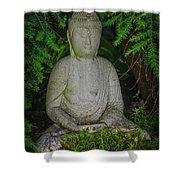 Zen Buddha Shower Curtain