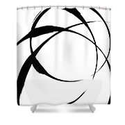 Zen Circles 4 Shower Curtain