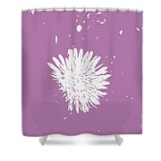 Dandelion In Love Shower Curtain
