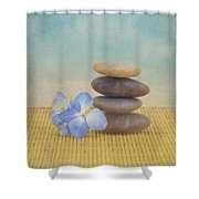 Zen Shower Curtain