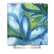 Zen Leaves Shower Curtain
