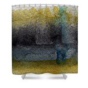 Zen Moment Shower Curtain by Linda Woods