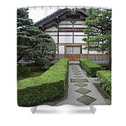 Zen Walkway - Kyoto Japan Shower Curtain