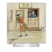 Zenger And Bradford, 1730s Shower Curtain