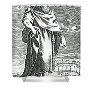 Zeno Of Citium, Ancient Greek Shower Curtain