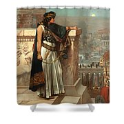 Zenobia's Last Look On Palmyra Shower Curtain