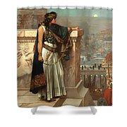 Zenobia's Last Look On Palmyra Shower Curtain