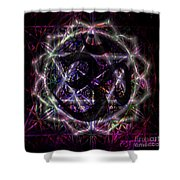 Zero One Shower Curtain