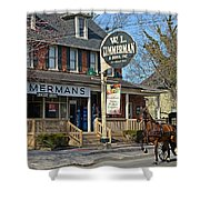 Zimmerman's Store Intercourse Pennsylvania Shower Curtain