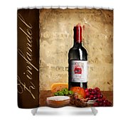 Zinfandel IIi Shower Curtain