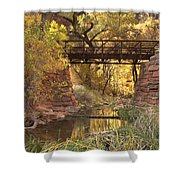 Zion Bridge Shower Curtain