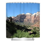 Zion Canyon View Shower Curtain