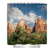 Zion Court Of The Patriarchs Shower Curtain