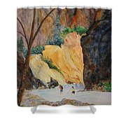 Zion Hike Shower Curtain