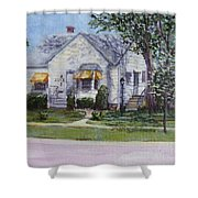 Zion House Shower Curtain