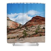 Zion National Park 1 Shower Curtain