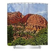 Zion National Park In Summer Shower Curtain