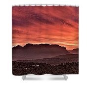 Zion National Park Panoramic Shower Curtain
