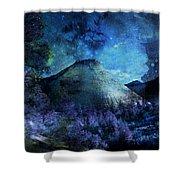 Zion Nights Shower Curtain