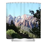 Zion Park Majestic View Shower Curtain