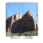 Zion Park Red Rocks Shower Curtain