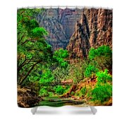 Zion Shower Curtain