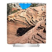 Zion Ripples Shower Curtain
