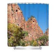 Zion Walls Shower Curtain