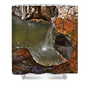 Zions 7 Shower Curtain