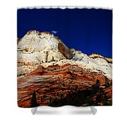 Zions Mount Shower Curtain
