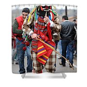 Zngrron Mascarade 2 Shower Curtain